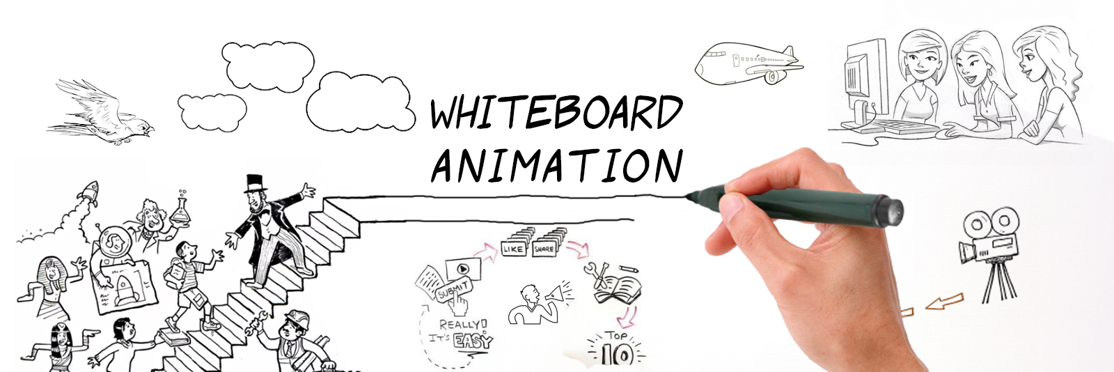 Whitepaper/Whiteboard Video Maker