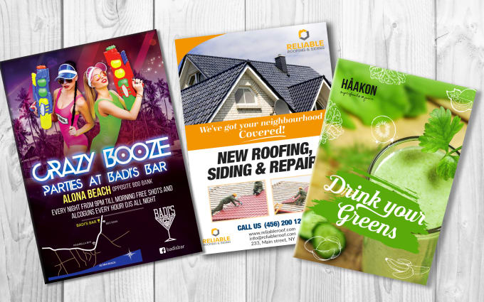 Do Any Flyer,Poster Design within 2 days