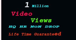 Add 1 million social video promotion instantly