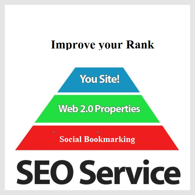 Create a high quality Web 2.0 Pyramid to improve your rank