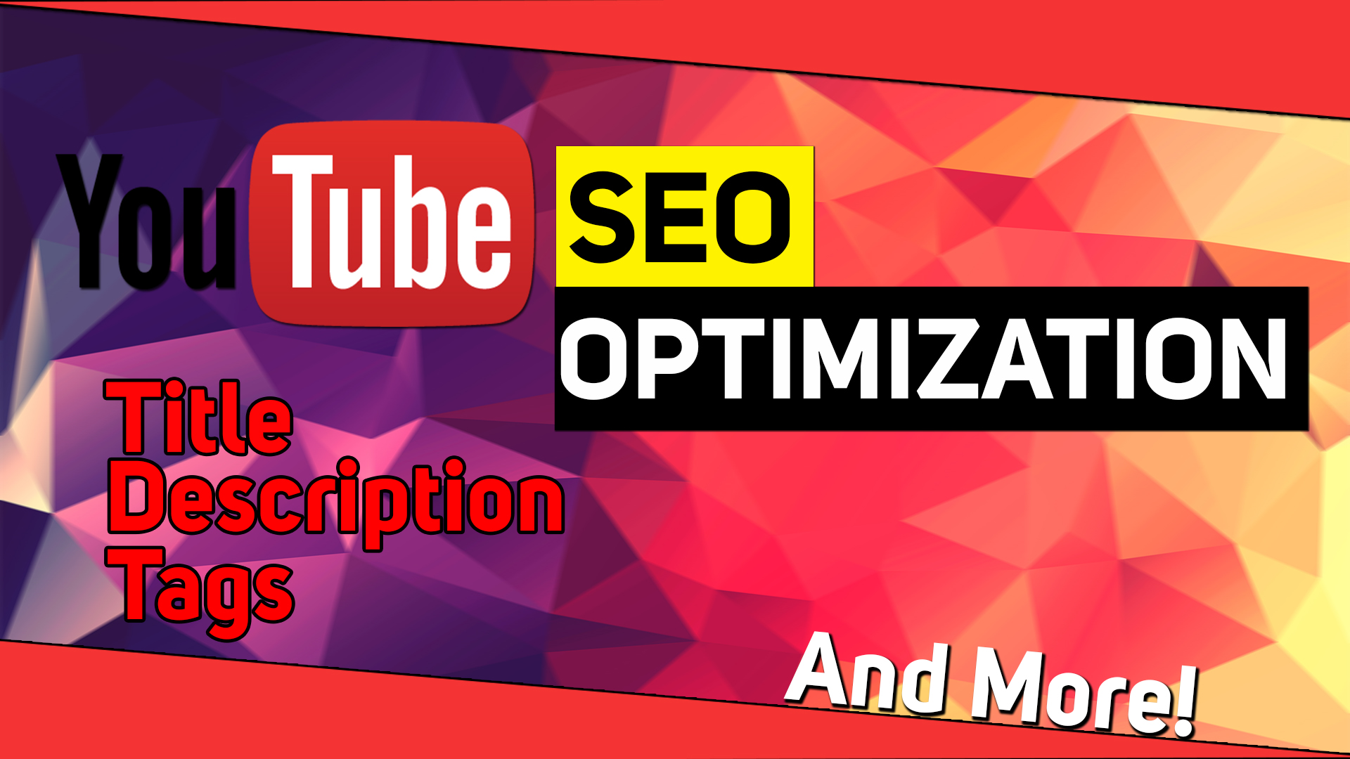 Complete & Professional SEO For Your Youtube Video