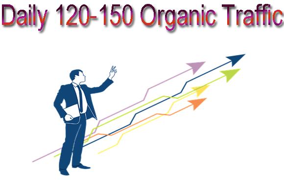 Get Panda & Penguin safe keyword targeted organic traffic for one month