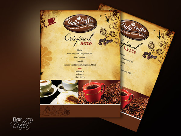 DESIGN DOUBLE SIDED FLYER
