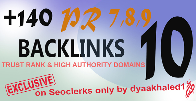 80+ Manually High Quality Dofollow Backlinks from authority sites PR7,8,9,10, High DA and PA For New Blogs