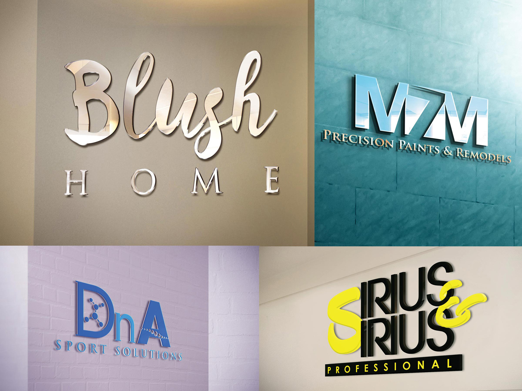 Design 2 Luxury logo with unlimited revisions