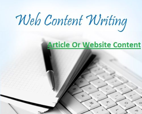 Compose A 500 Words Blog,  Article Or Website Content