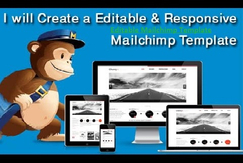 Outline Responsive And Editable Mailchimp Template