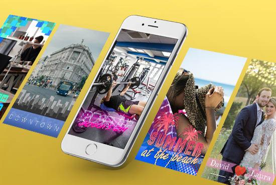 Custom made Snapchat Geofilter