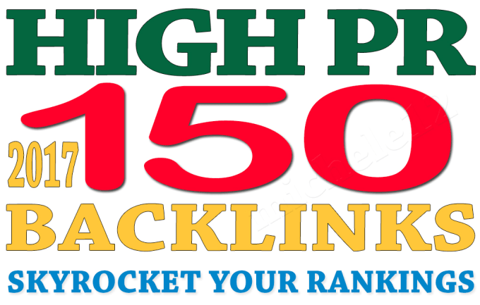 150 High Pr, Da Backlinks To Your Website
