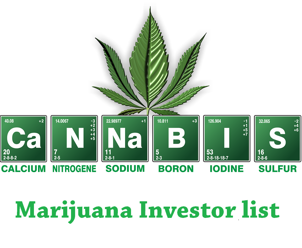 Email list for Marijuana/Cannabis Investors Include Phone Number