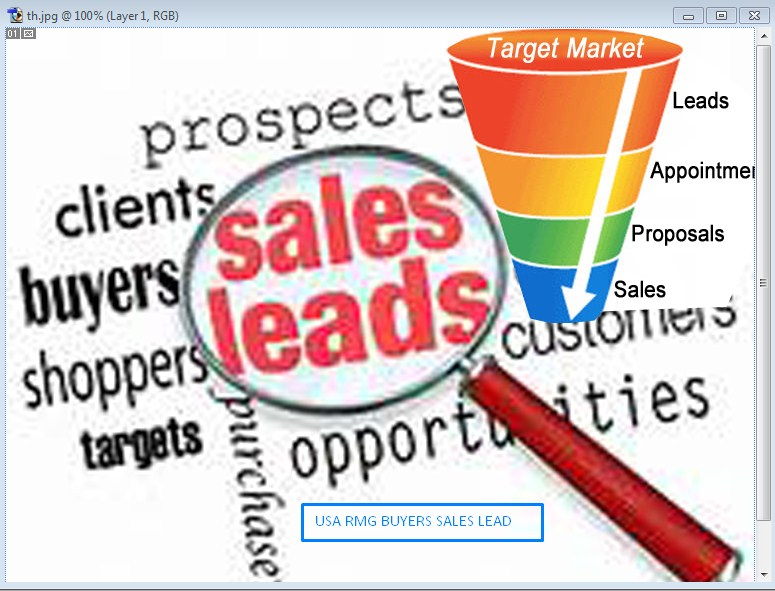 Provide Sales lead of USA RMG Buyers