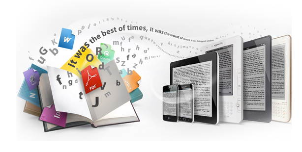 Convert your Book to Ebook (for every 50 pages)