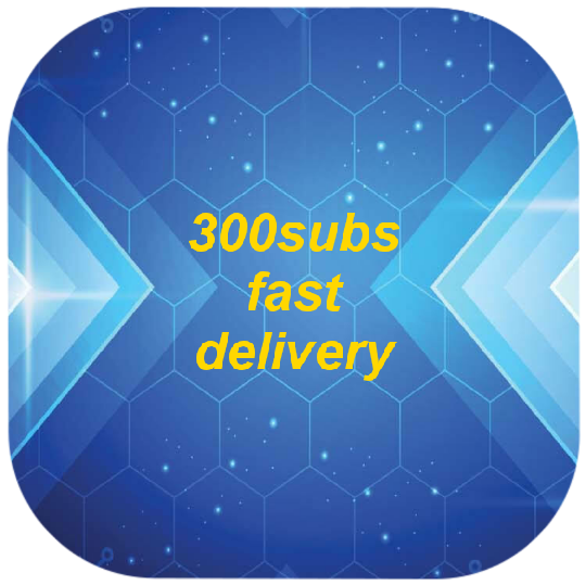 300subs non  drop very Quick Delivery