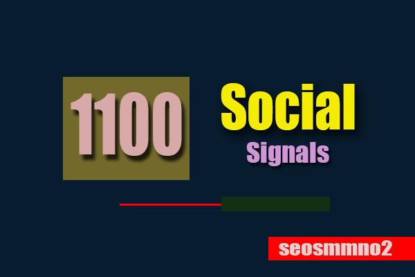 Create 1100 Permanent Seo Social Signals