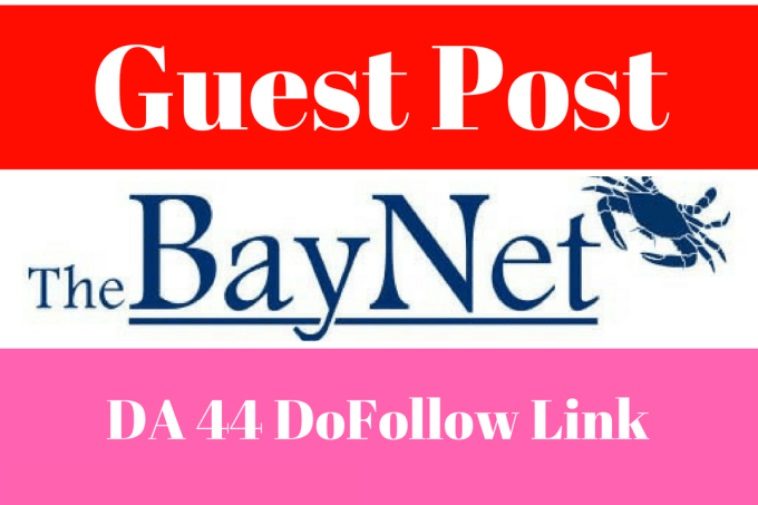 write and Publish A Guest Post With Dofollow Link On Thebaynet (DA 93 PA79 , PR 8 )