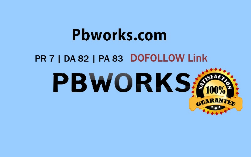 Guest Post in Pbworks. com PR7 DA 82 Dofollow backlink Limited offer