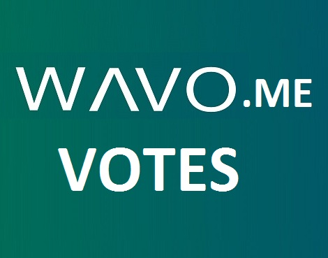 Give you 50 wavo votes for your WAVO. ME Contest