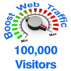 100,000 Web Traffic To Your Website,  Blog or Affiliate Link for 5