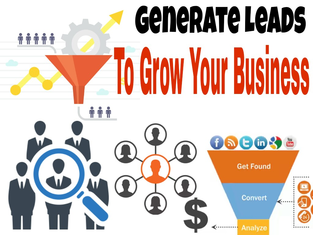 To Generate your targeted nich based Leads