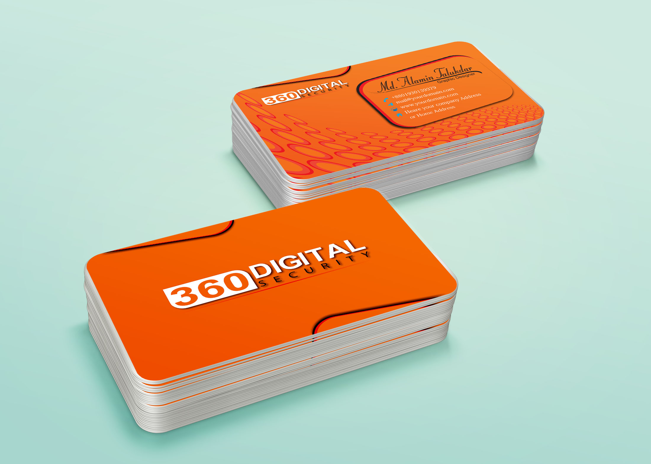Design a business card for you in a day