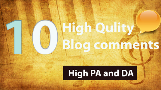 Make 10 Manual DoFollow PR 2 To 6 Blog Comments