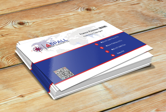design awesome and outstanding business card for 5 seoclerks