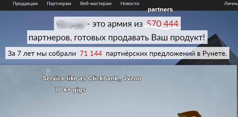 I Promote Your service To My Rus Top 20partners