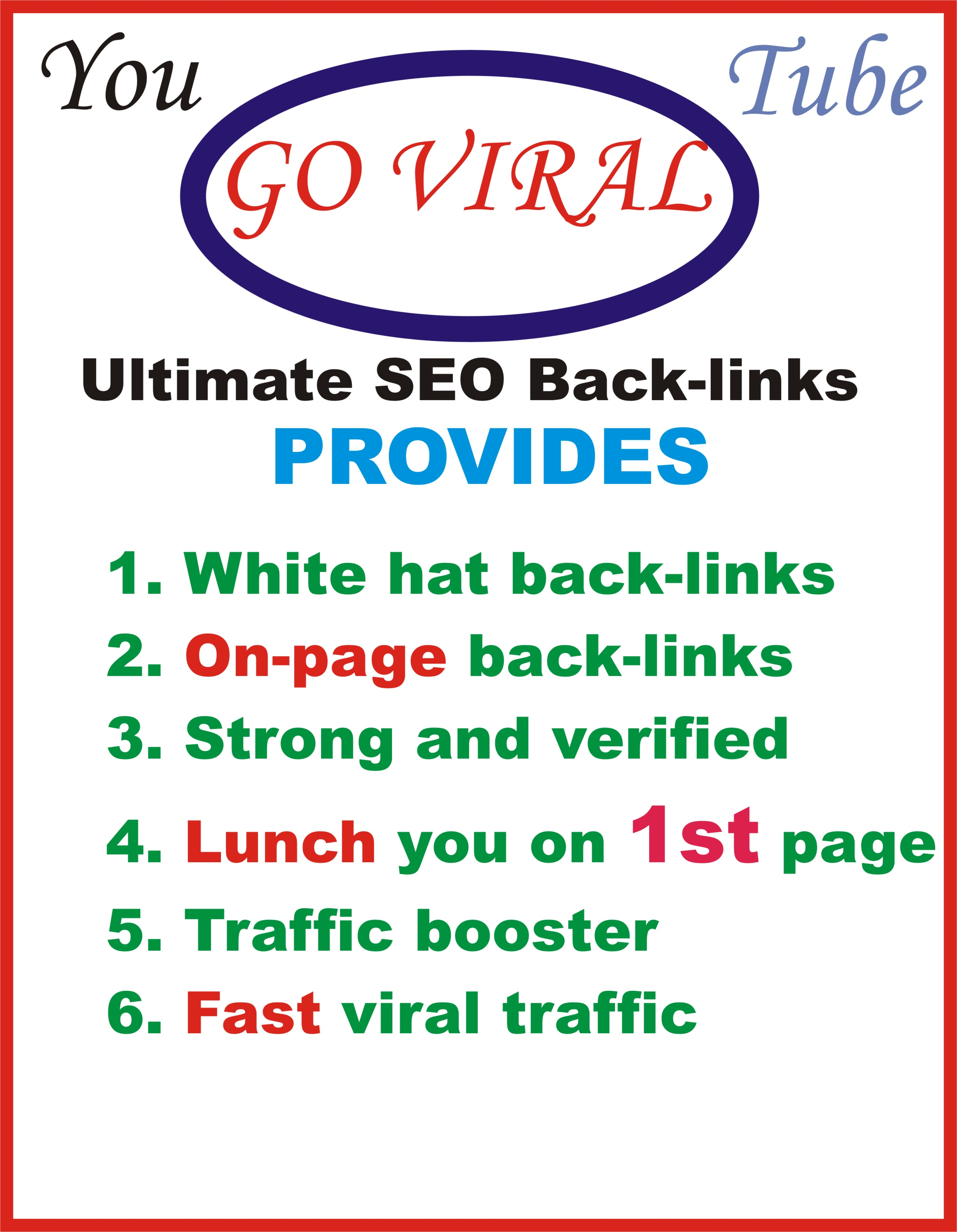 2020 exclusive YouTube VIDEO RANKING - Embed 1114+ Quality Pr 1-2 High PA TF PR CF Do-Follow links