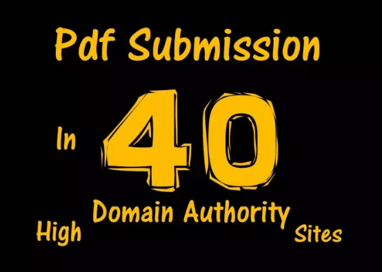 Do PDF submissions to 40 document sharing sites