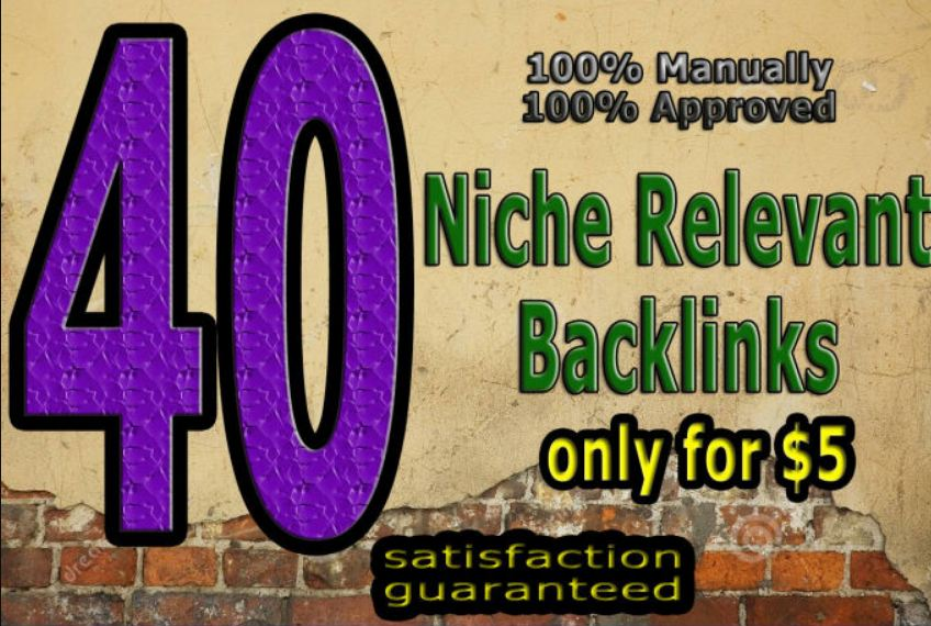 Do 40 Niche Relevant Blog Comment