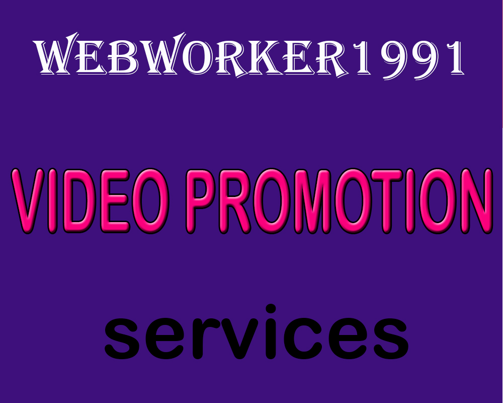 Organic YouTube Video Promotion and Seo Raniking Marketing Only