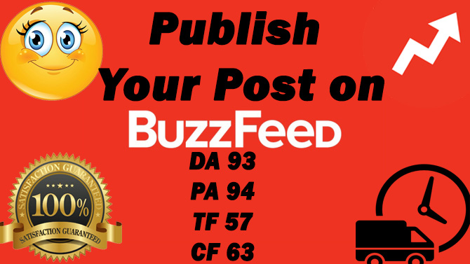 Publish your Article at BuzzFeed Guest post