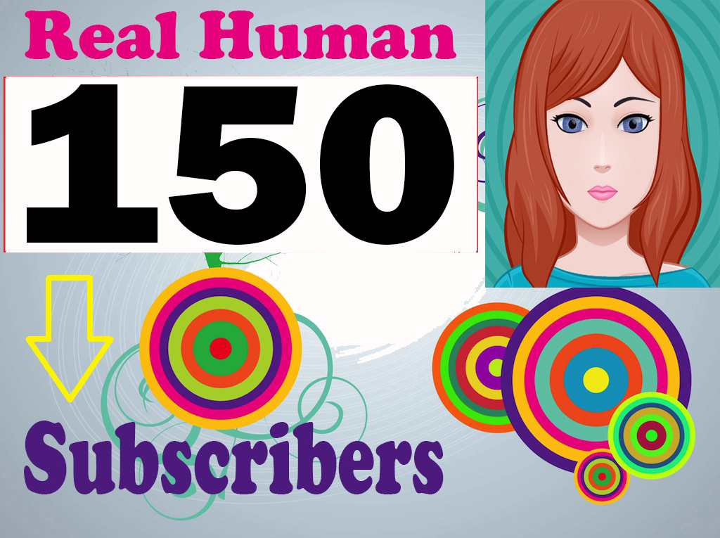 Non Drop 150+ You-Tube Sub-Scribers on your Channel fast complete