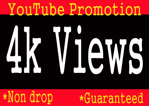 Guaranteed YouTube Promotion for Rank