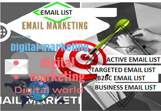 provide Canadian 30K outlook hotmail live msn, B2B mail list as per your job niches