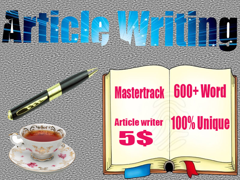 600+ Words Unique Article/Content writing 5 hours delivery