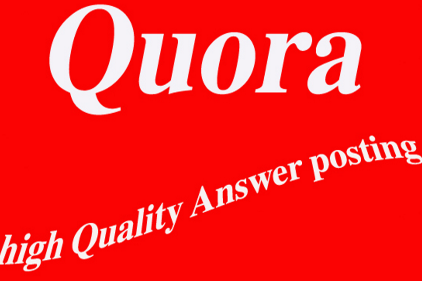 Promote your website with 10 high quality Quora backl...