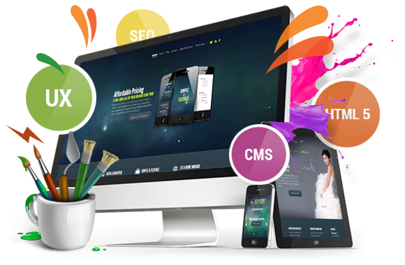 Website Business Design Included Payment System