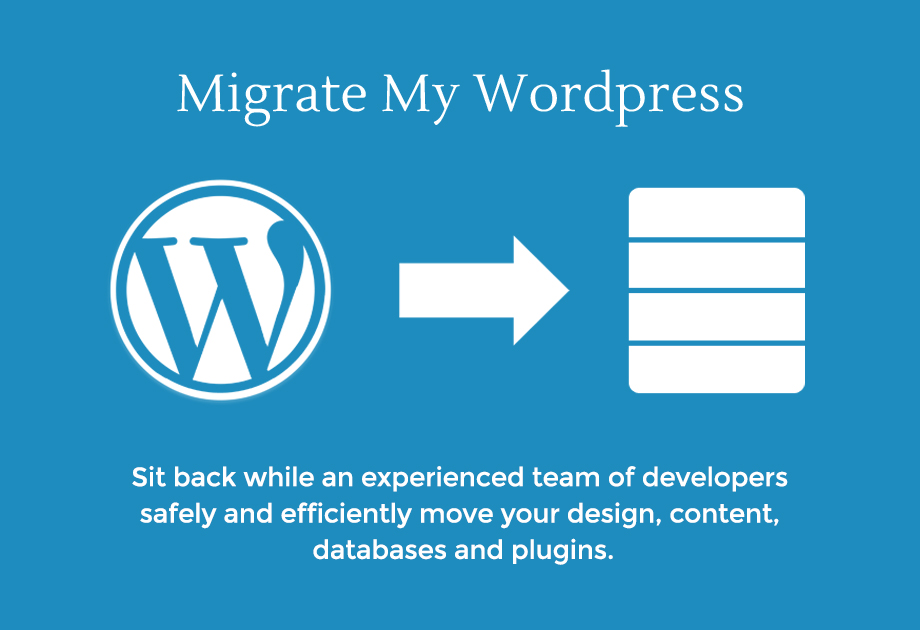 Transfer,  Migration or clone of any WordPress website to new host for 5