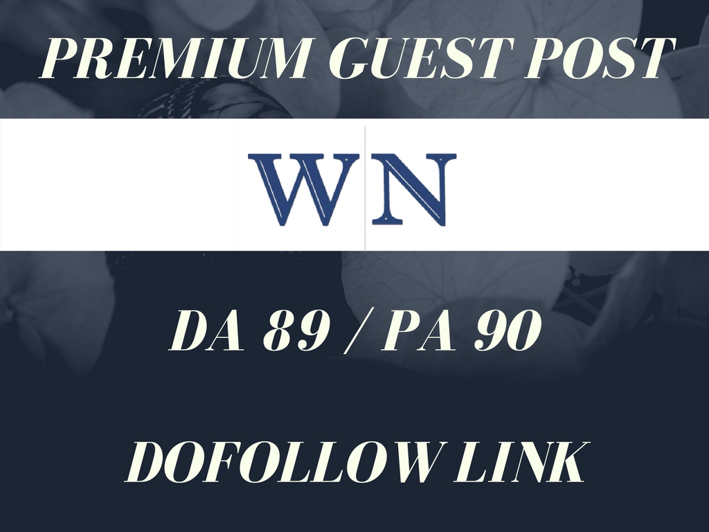 Publish 3 Guest Post on WN DA 89