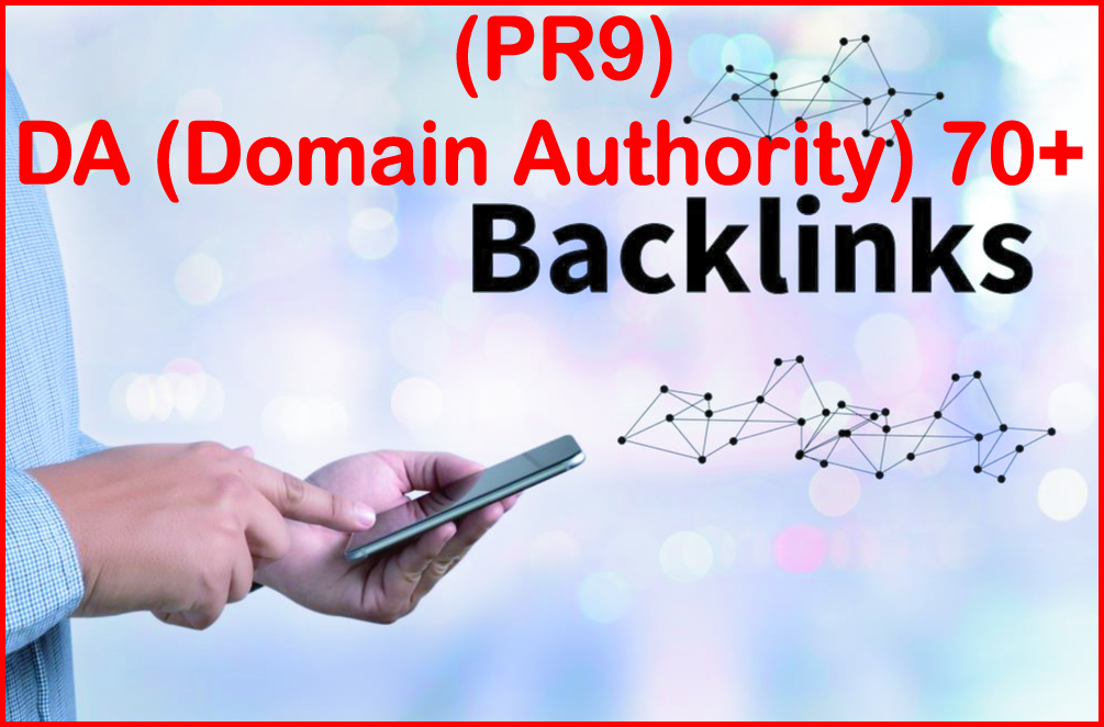Submit 70+ PR9 - DA - Domain Authority- High PR Most Effective Backlinks