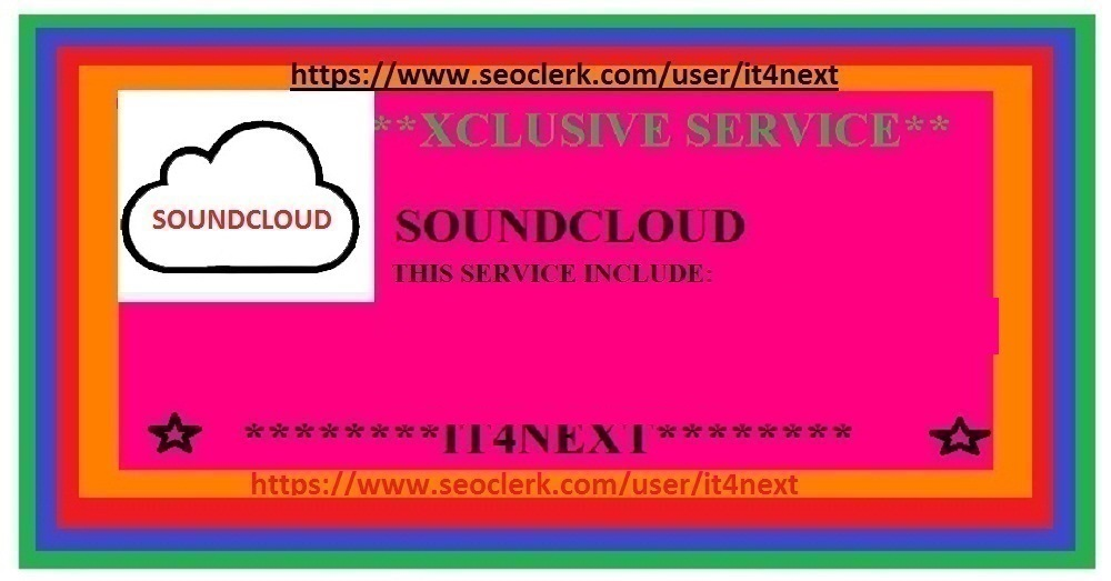 GET 50K SOUNDCLOUD PLAYS + 50 LIKES + 40 REPOSTS + 25 SOUNDCLOUD COMMENTS