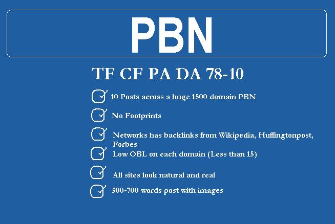 Buy 10 Co-Citation PBN Dofollow links