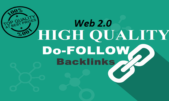 Give you 30+ High PR Web 2.0 Backlinks for 5