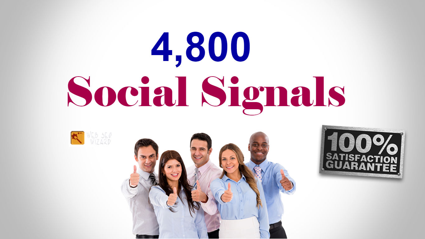 Create 4,800 SEO Social Signals From 2 Top Sites