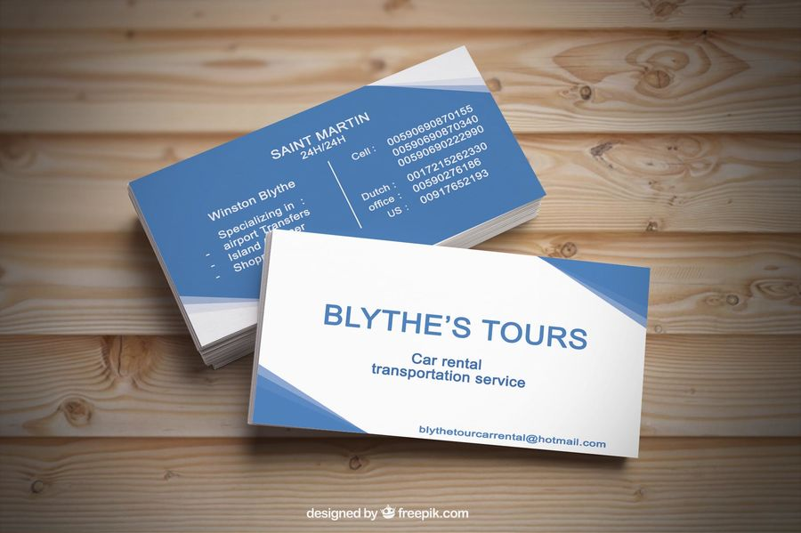 design professional 2 side business card within 24 hours