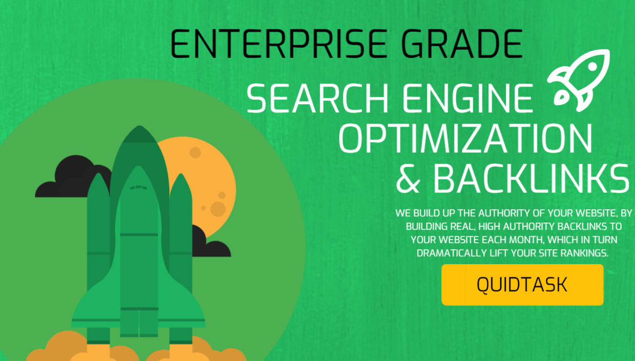 Enterprise Grade Search Optimization service - The Number One SEO Package for dominating your niche