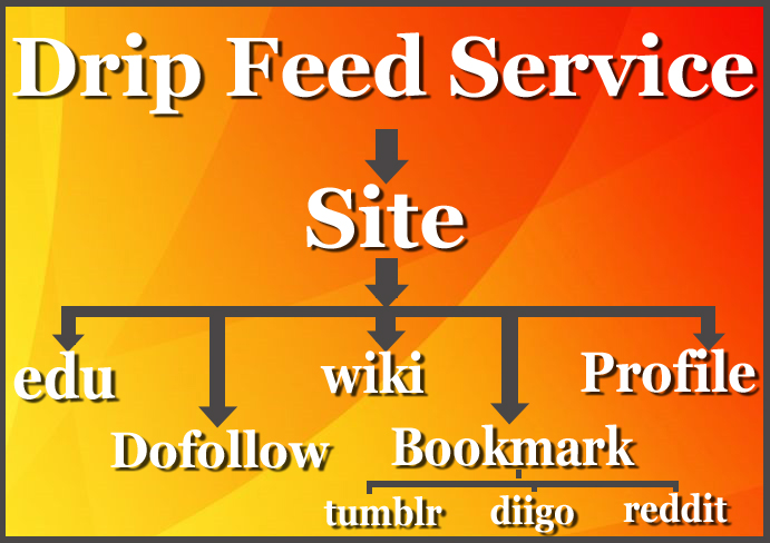 Drip Feed Manual money site backlink with indexed on google page