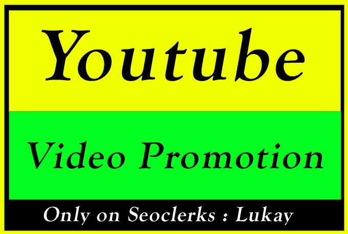 Organic YouTube Video Seo Ranking Promotion and Marketing