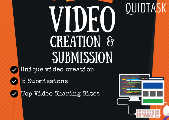 Create SEO Video and submit to 3 Top Video Sharing websites with backlink and signals for your link